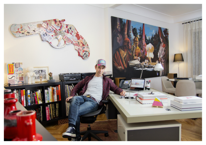 El mecenas y empresario del transporte Jaime Cosa en su despacho