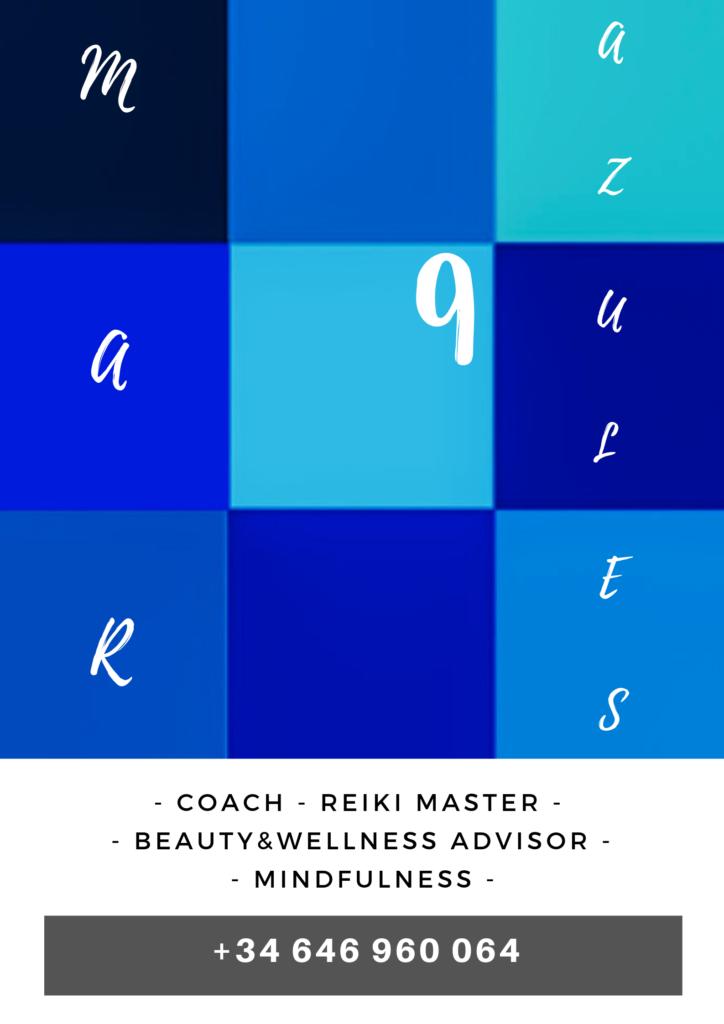 Imagen corporativa de la coach Mar 9 Azules.