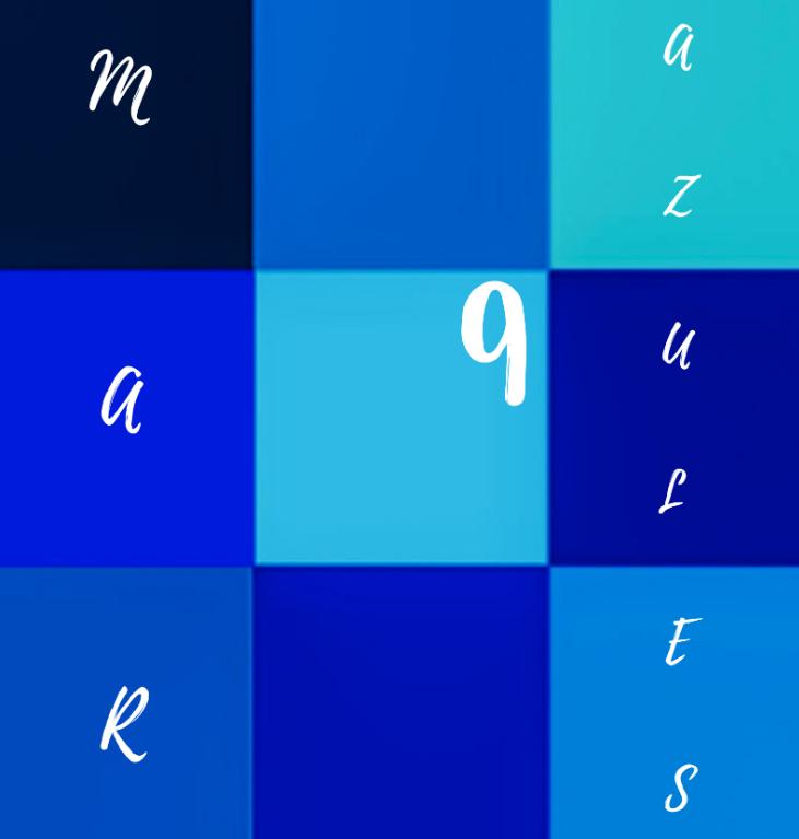imagen corporativa de la coach Mar 9 Azules