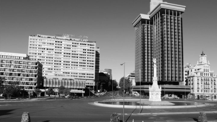 La Plaza de Colón de Madrid fotografiada por Ignacio Pereira