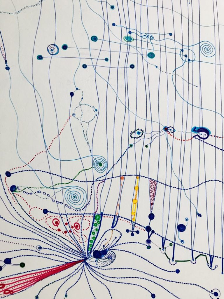 Aremi, obra de Máxima Romero, 2017 para ARTNOBEL