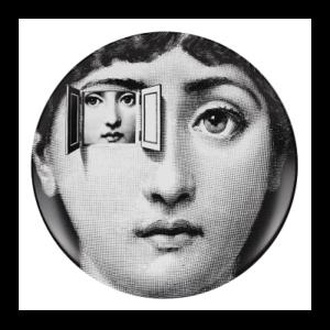 Piero Fornasetti, Plato de pared de la serie Tema e Variazioni